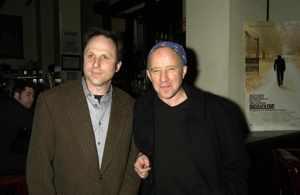 Bob Berney and Arliss Howard at the tribute to the release of