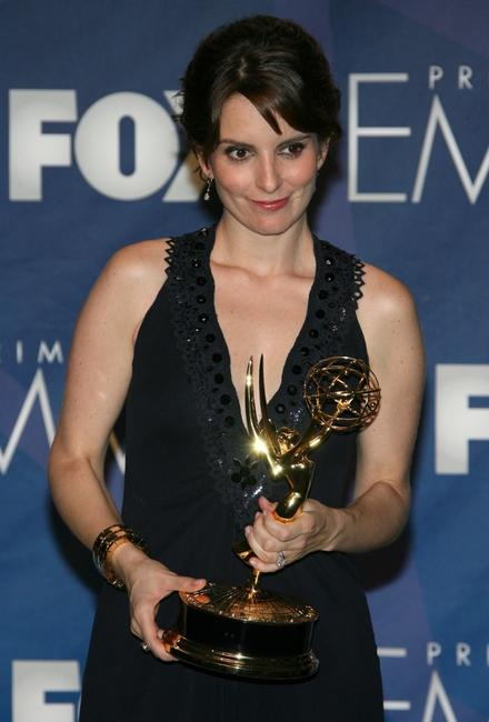 Tina Fey at the 59th Annual Emmy Awards.