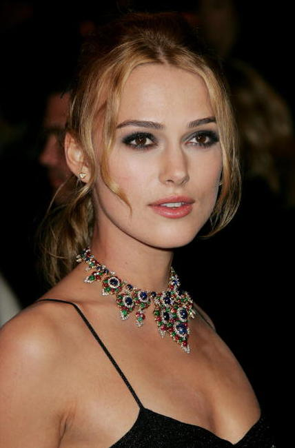 Keira Knightley at the Vanity Fair Oscar party in 2006.