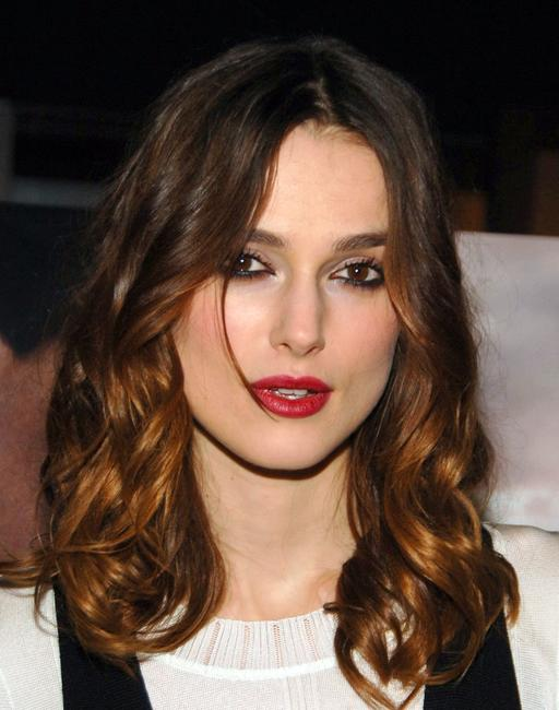 Keira Knightley at the New York screening of
