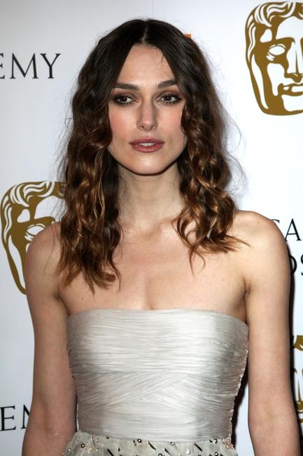Keira Knightley at the Orange British Academy Film Awards.