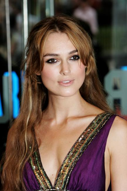 Keira Knightley at the London premiere of