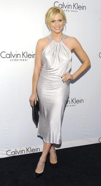 Brittany Snow at The 25th Anniversary Party of Calvin Klein Underwear in N.Y.