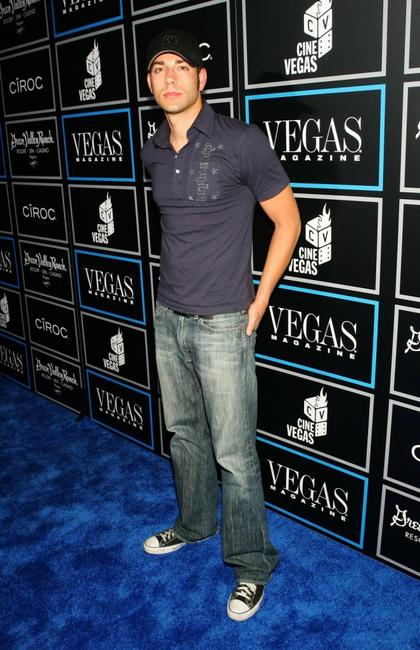 Zachary Levi at the Vegas Magazine 3rd Anniversary Party during the CineVegas film festival.
