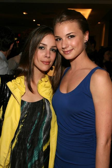 Tiffany Dupont and Emily VanCamp at the