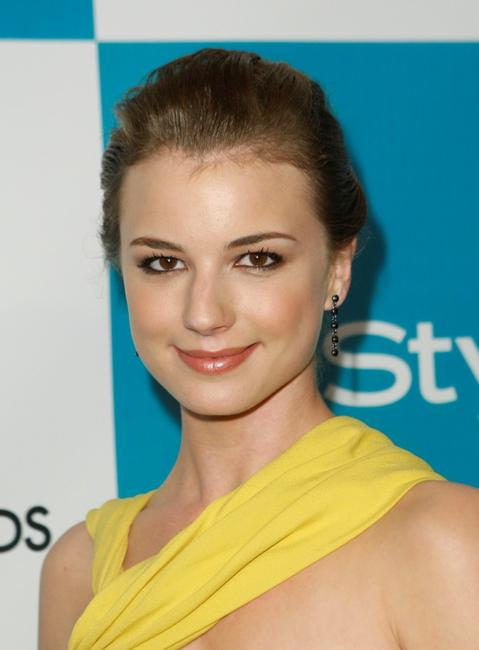 Emily VanCamp at the In Style and Grammy Salute to Fashion at Boulevard3.