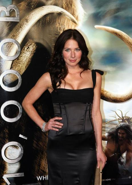 Lynn Collins at the premiere of