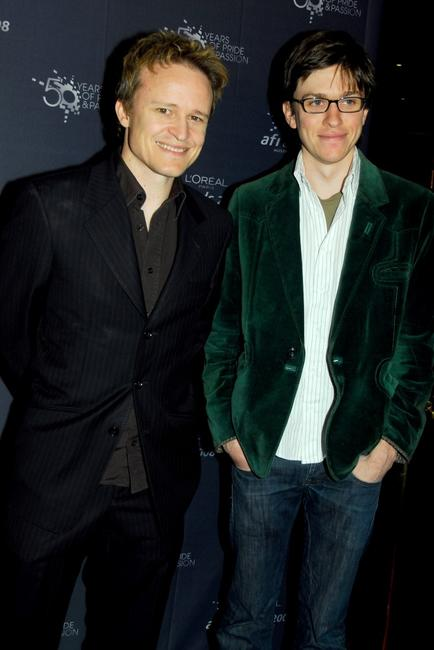 Damon Herriman and Abe Forsythe at the L'Oreal Paris 2008 AFI Awards Screenings launch.
