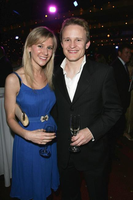 Louise Molino and Damon Herriman at the 2008 Helpmann Awards.