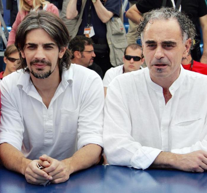 Pablo Echarri and Guillermo Fernandez at the photocall of