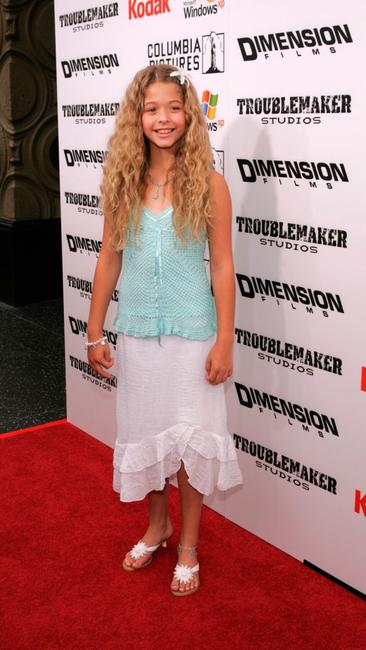 Sasha Pieterse at the premiere of
