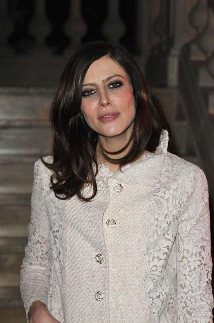 Anna Mouglalis at the Fashion Dinner For AIDS.