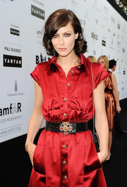 Anna Mouglalis at the amfAR Cinema Against AIDS 2009 benefit during the 62nd Annual Cannes Film Festival.