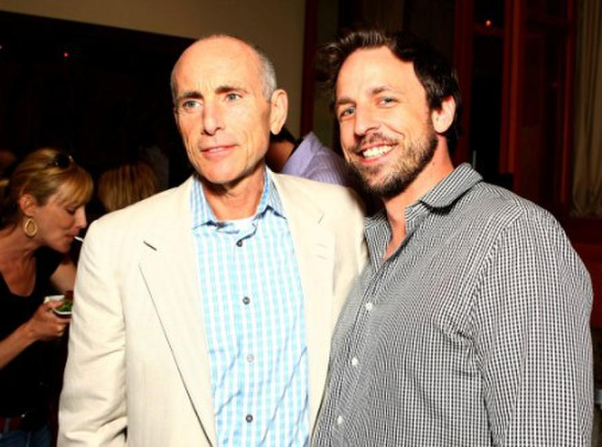 Kevin McCormick and Seth Meyers at the after party of the premiere of