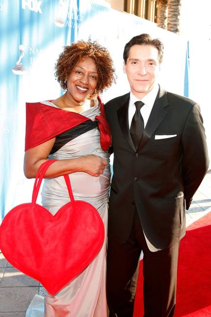 CCH Pounder and Benito Martinez at the 39th NAACP Image Awards.