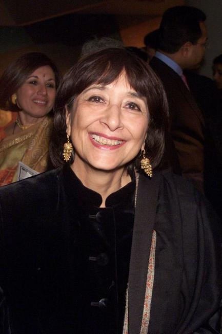 Madhur Jaffrey at the Festival of India Diaspora.