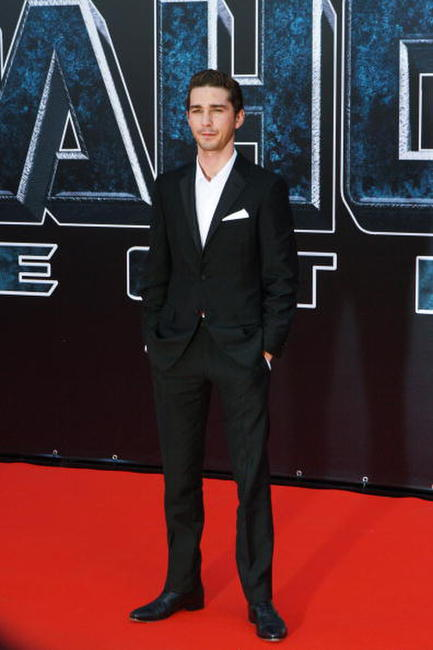 Shia LaBeouf at the Moscow premiere of