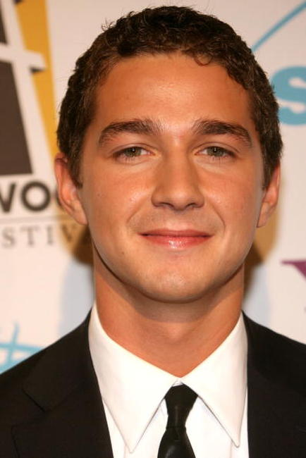 Shia LaBeouf at the Hollywood Film Festival 10th annual Hollywood Awards gala ceremony in Beverly Hills.