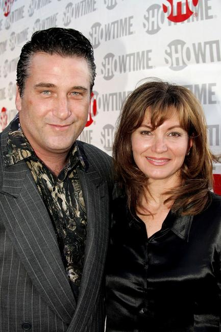 Daniel Baldwin and Isabella Hofmann at the Directors Guild of America for the premiere of