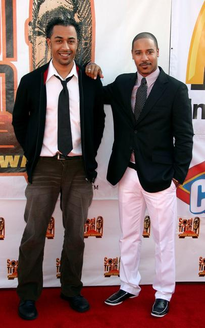 Sylvain White and Brian J. White at the 21st Annual Soul Train Music Awards.