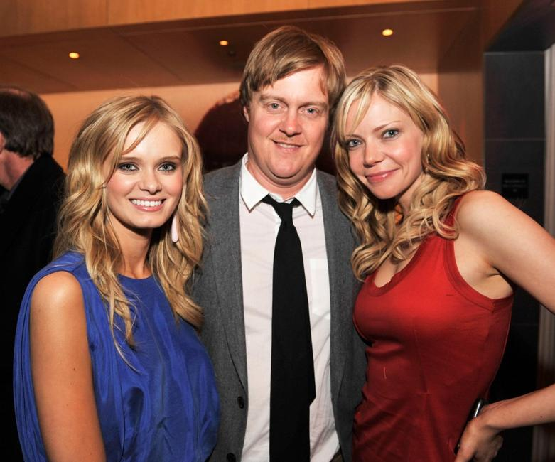 Sara Paxton, Jonathan Craven and Riki Lindhome at the after party of the premiere of