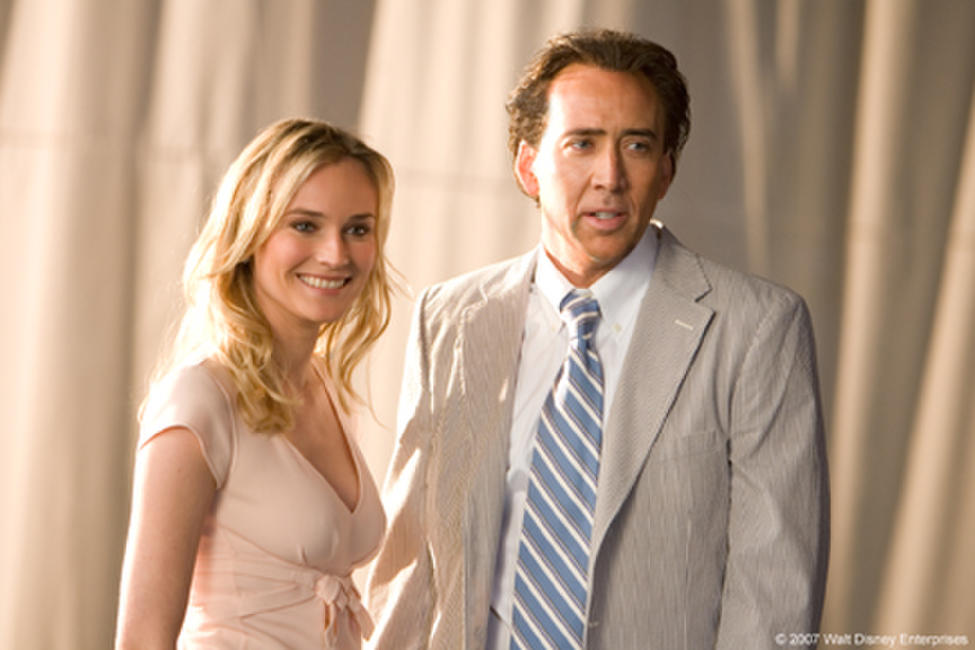 Diane Kruger and Nicolas Cage in