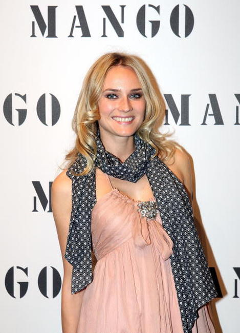 Diane Kruger at the Mango Fashionparty.