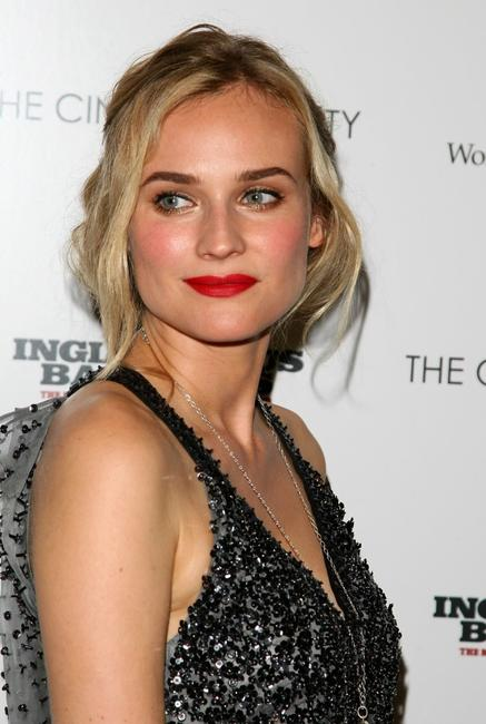 Diane Kruger at the Cinema Society & Hugo Boss screening of