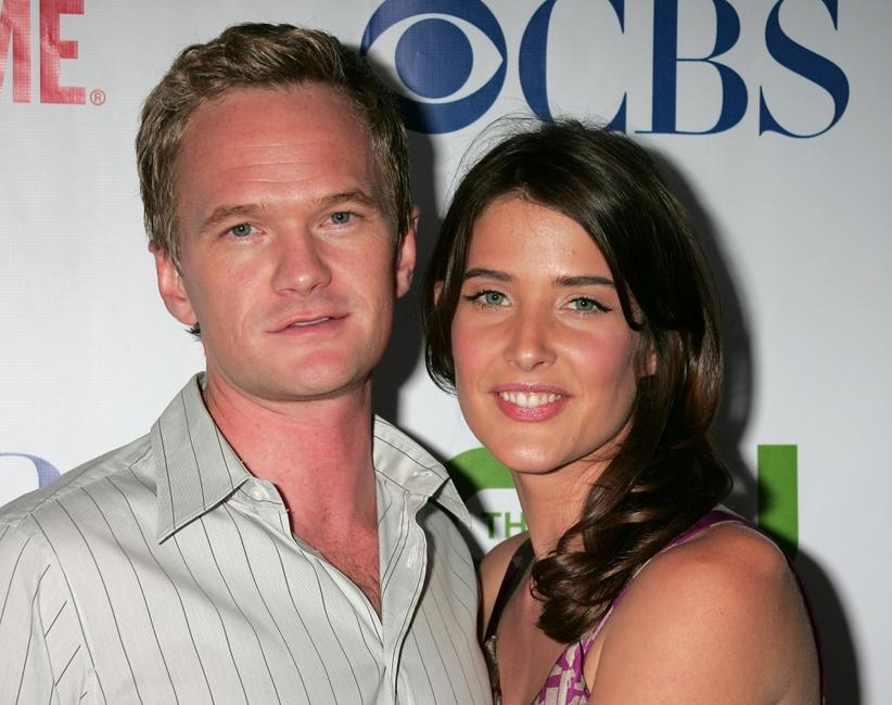 Neil Pactrick Harris and Cobie Smulders at the CW/CBS/Showtime/CBS Television TCA party.