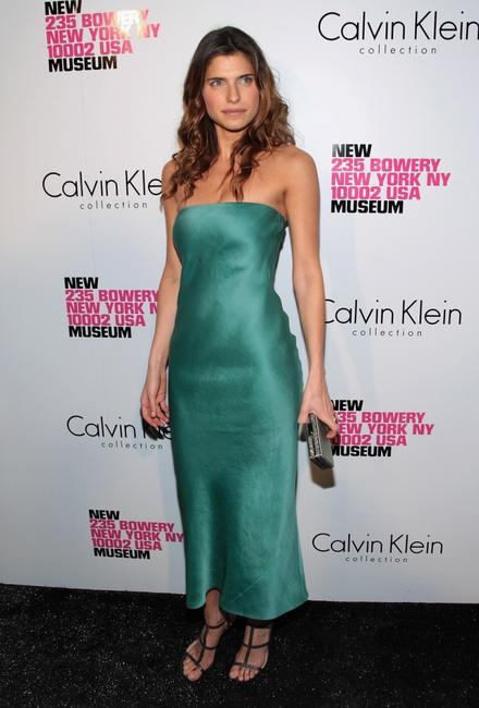 Lake Bell at the grand reopening of the New Museum hosted by Calvin Klein Collection.