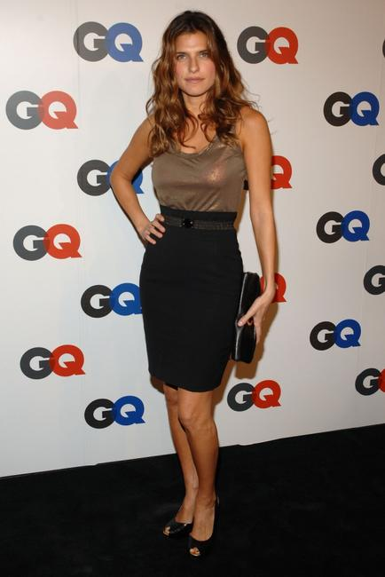 Lake Bell at the GQ Magazines 50th Year Celebration party.