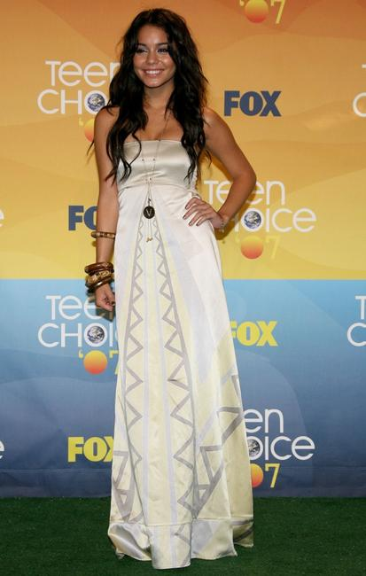 Vanessa Hudgens at the 2007 Teen Choice Awards.