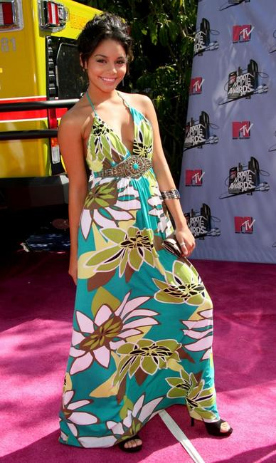 Vanessa Hudgens at the 2007 MTV Movie Awards.