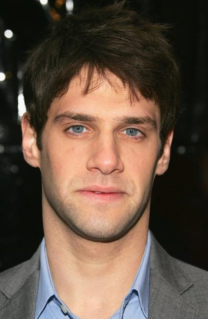 Justin Bartha at the premiere of