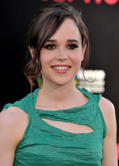 Ellen Page at the premiere of