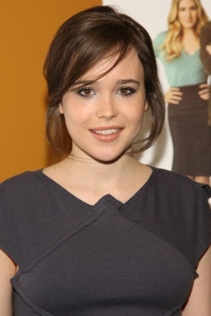 Ellen Page at the screening of