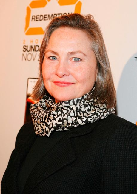 Cherry Jones at the world premiere screening of