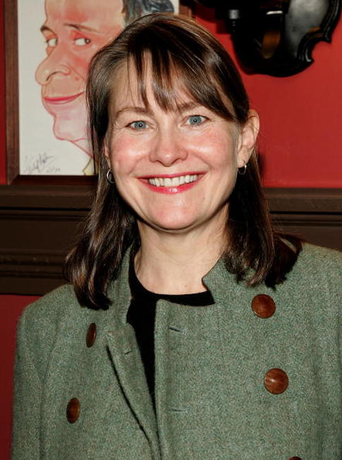 Cherry Jones at the Outer Critics Circles Award reception.