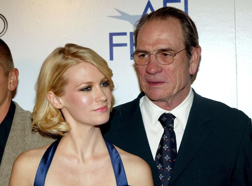 Tommy Lee Jones and Jones at the Screening of