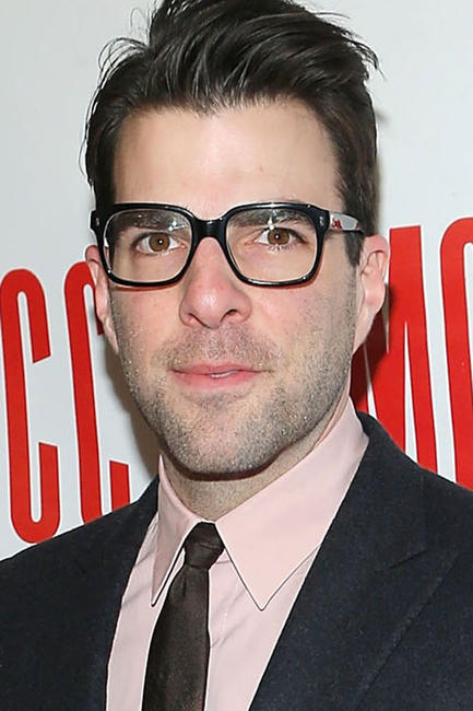 Zachary Quinto at Miscast 2013 in New York.