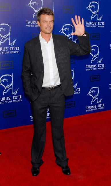 Josh Duhamel at the 7th Annual Taurus World Stunt Awards.