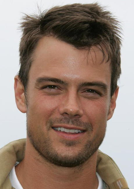 Josh Duhamel at the 8th Annual Michael Douglas & Friends Golf Tournament.