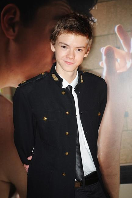 Thomas Sangster at the Times BFI 53rd London Film Festival.