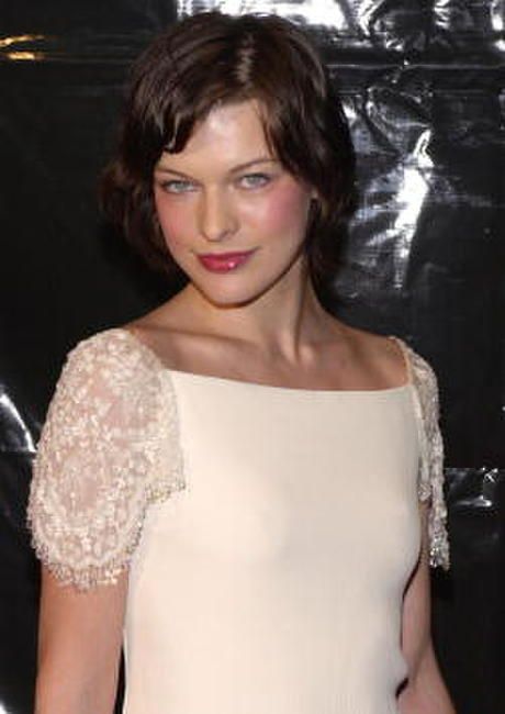 Milla Jovovich at Valentino's 40th Anniversary.