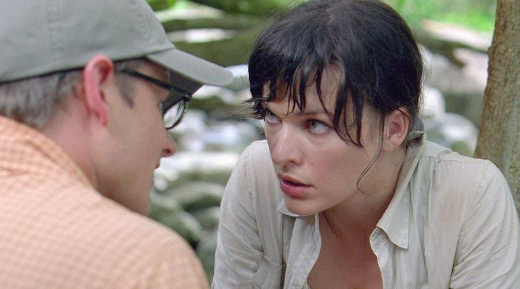 Steve Zahn and Milla Jovovich in