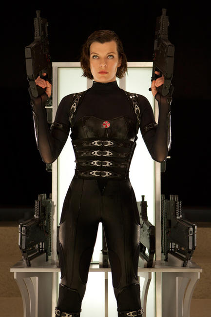 Milla Jovovich as Alice in