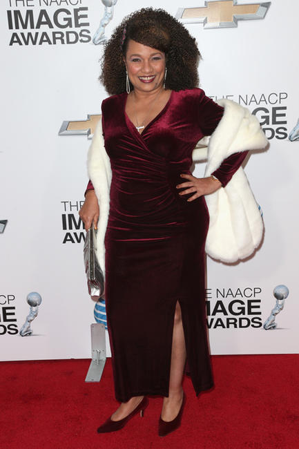 Ella Joyce at the 44th NAACP Image Awards in California.