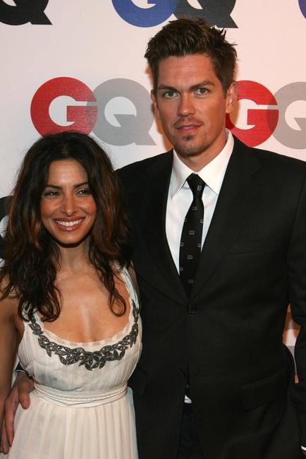Sarah Shahi and Steve Howe at the GQ 2007 Men Of The Year celebration.