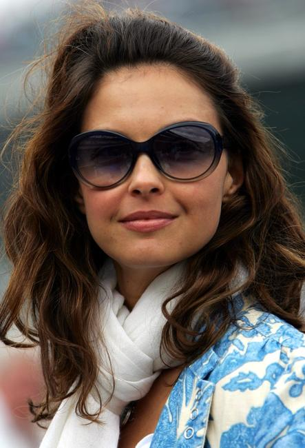 Ashley Judd at the 89th Indianapolis 500-Mile Race at the Indianapolis Motor Speedway.