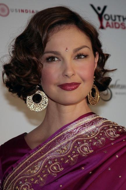Ashley Judd at the YouthAIDS Benefit Gala.